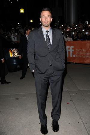"Director/actor Ben Affleck at the Canada premiere of ""The Town."""