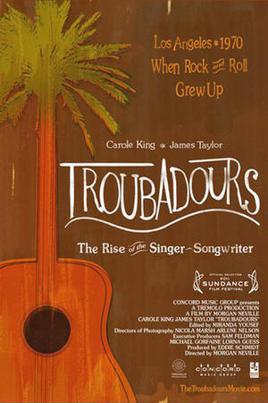 "Poster art for ""Troubadors."""