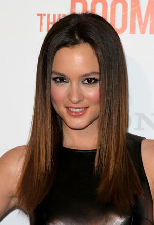 "Leighton Meester at the California premiere of ""The Roommate."""