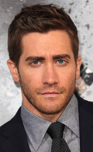 "Jake Gyllenhaal at the California premiere of ""Source Code."""