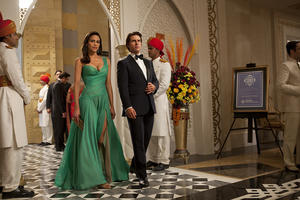 "Paula Patton and Tom Cruise in ""Mission: Impossible - Ghost Protocol."""