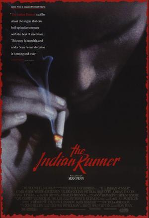 """Poster art for """"The Indian Runner."""""""