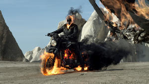 "A scene from ""Ghost Rider: Spirit Of Vengeance."""