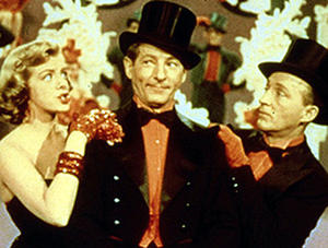 "A scene from ""White Christmas"""