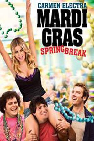 """Poster art for """"Mardi Gras: Spring Break."""""""