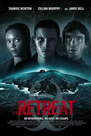 "Poster art for ""Retreat."""