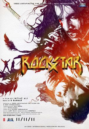 "Poster art for ""Rockstar."""