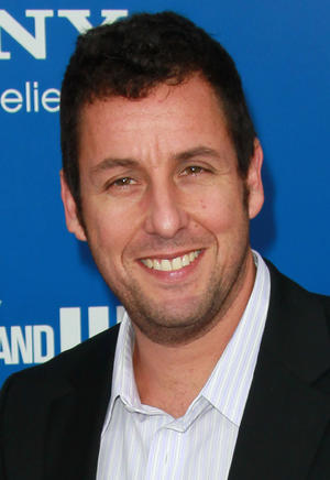 "Adam Sandler at the California premiere of ""Jack and Jill."""