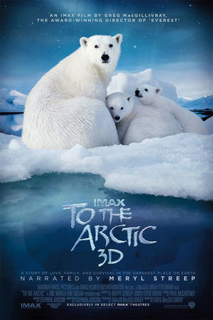 """Poster art for """"To the Arctic 3D."""""""