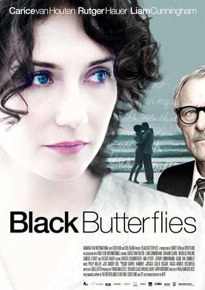 """Poster art for """"Black Butterflies."""""""