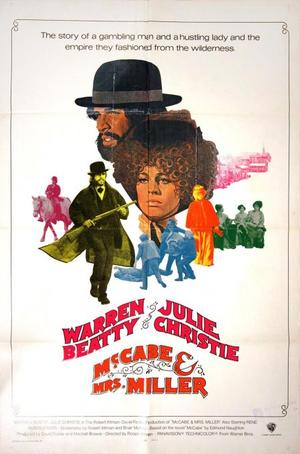 "Poster art for ""McCabe and Mrs. Miller."""
