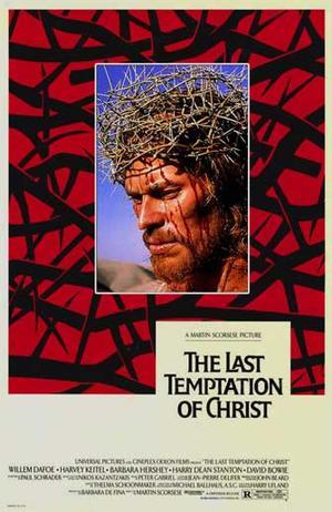 "Poster art for ""The Last Temptation of Christ."""