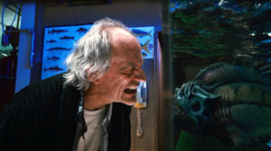 "Christopher Lloyd in ""Piranha 3DD."""