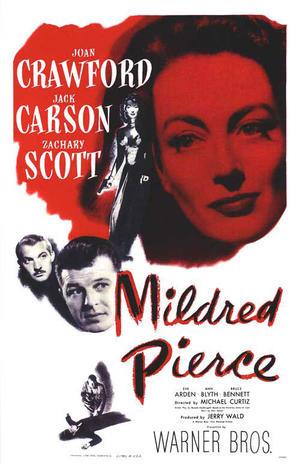 """Poster art for  """"Mildred Pierce."""""""