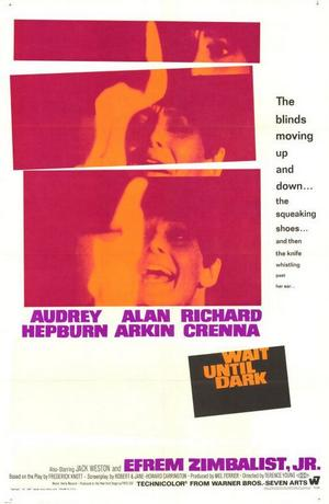 "Poster art for ""Wait Until Dark."""