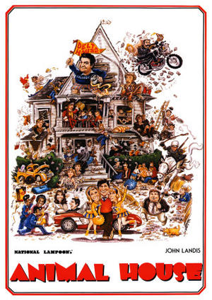 "Posters art for ""National Lampoon's Animal House."""