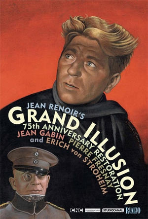 """Poster art for """"Grand Illusion."""""""