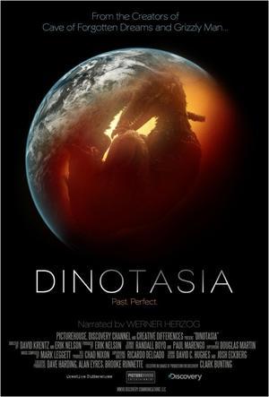 "Poster art for ""Dinotasia."""