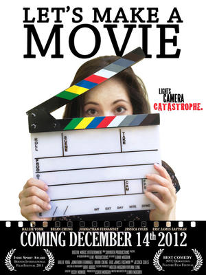 "Poster art for ""Let's Make a Movie."""