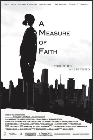 "Poster art for ""A Measure of Faith."""