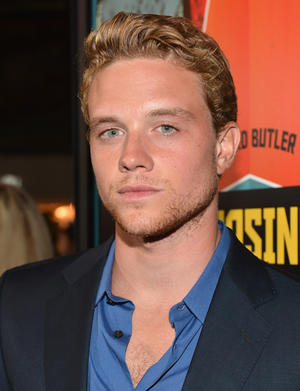 "John Weston at the California premiere of ""Chasing Mavericks."""