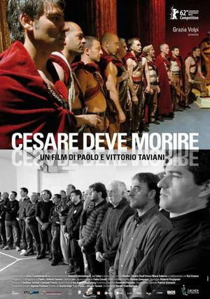"Poster art for ""Caesar Must Die."""
