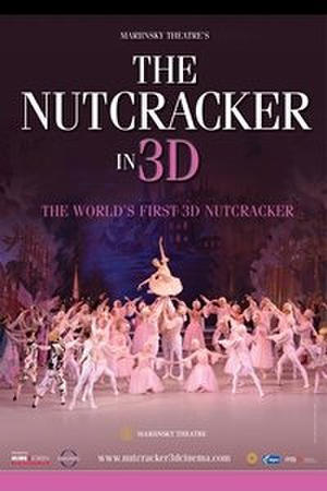 "Poster art for ""The Nutcracker Mariinsky Ballet."""