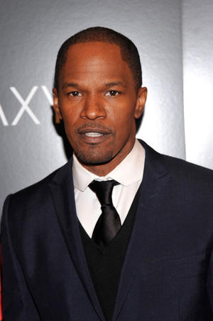 "Jamie Foxx at the New York premiere of ""Django Unchained."""