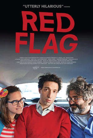 "Poster art for ""Red Flag."""