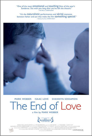 "Poster art for ""The End of Love."""
