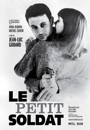 "Poster art for ""Le Petit Soldat."""