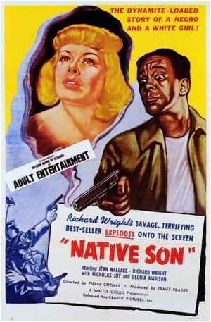 "Poster art for ""Native Son."""
