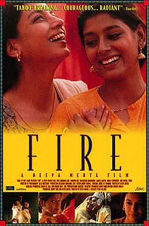 "Poster art for ""Fire."""