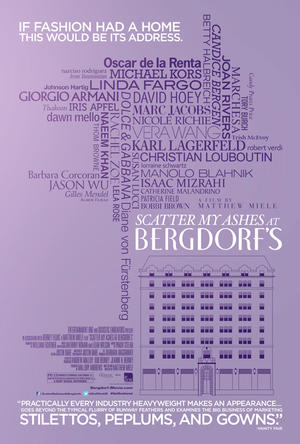 "Poster art for ""Scatter My Ashes at Bergdorf's."""