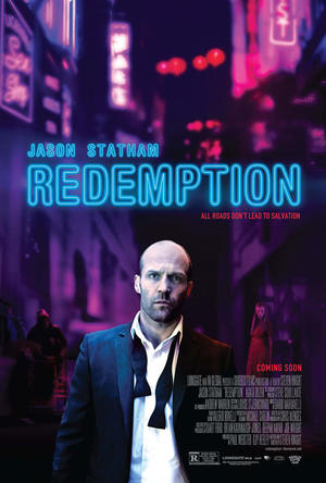 "Poster art for ""Redemption."""