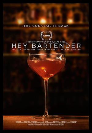 """Poster art for """"Hey Bartender."""""""