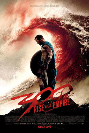 "Poster art for ""300: Rise of an Empire 3D."""