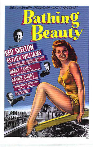 """Poster art for """"Bathing Beauty."""""""