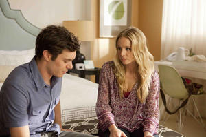 "Adam Brody and Kristen Bell in ""Some Girl(s)."""