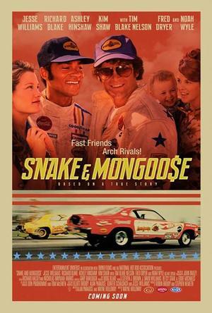 """Poster art for """"Snake & Mongoo$e."""""""