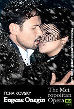 "Poster art for ""The Metropolitan Opera: Eugene Onegin."""