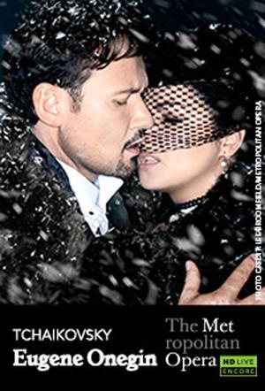 """Poster art for """"The Metropolitan Opera: Eugene Onegin Encore."""""""