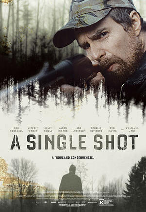 "Poster art for ""A Single Shot."""