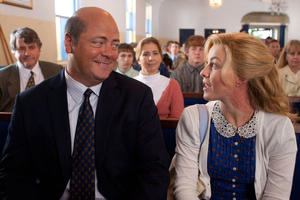 """Nick Offerman and Julianne Hough in """"Paradise."""""""