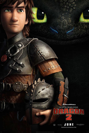 "Poster art for ""How To Train Your Dragon 2 3D."""