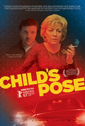 "Poster art for ""Child's Pose."""
