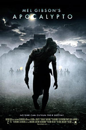 "Poster art for ""Apocalypto."""