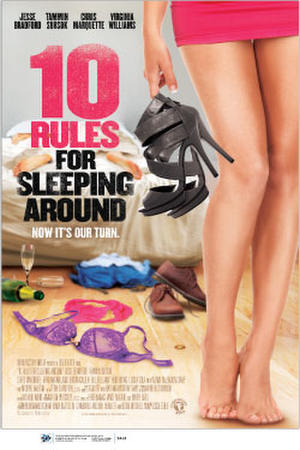 """Poster art for """"10 Rules for Sleeping Around"""""""