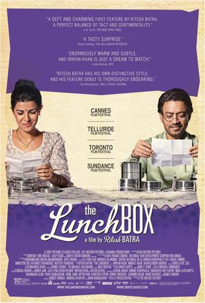 "Poster art for ""The Lunchbox."""
