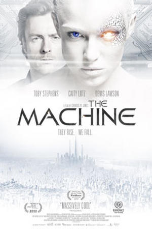 "Poster art for ""The Machine."""